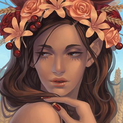 Ester zejn elf girl flowers3finsalagainbg