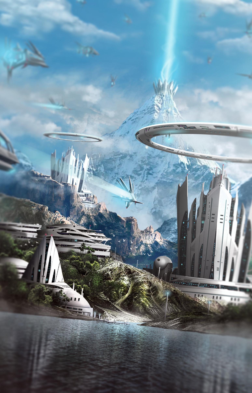 Concept Art Cityscape