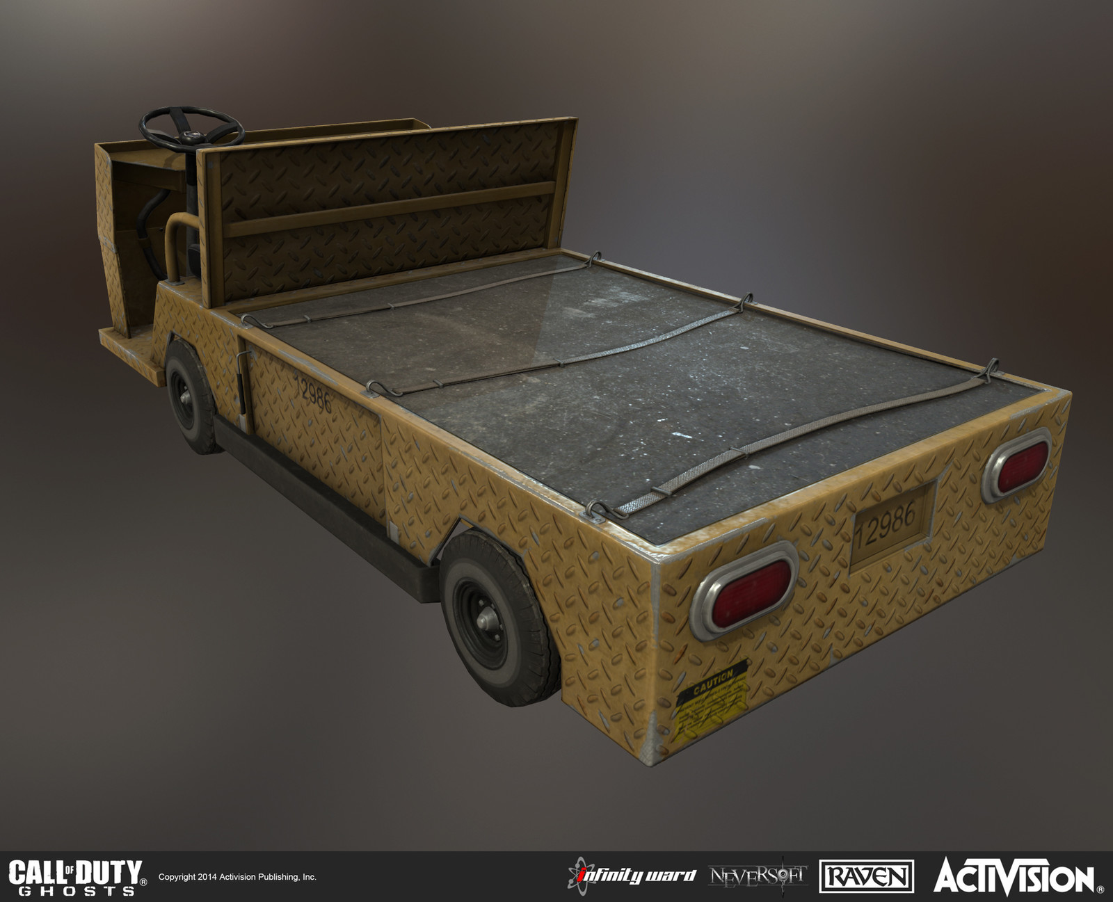 Created this transport cart for use in Clockwork single-player mission.
