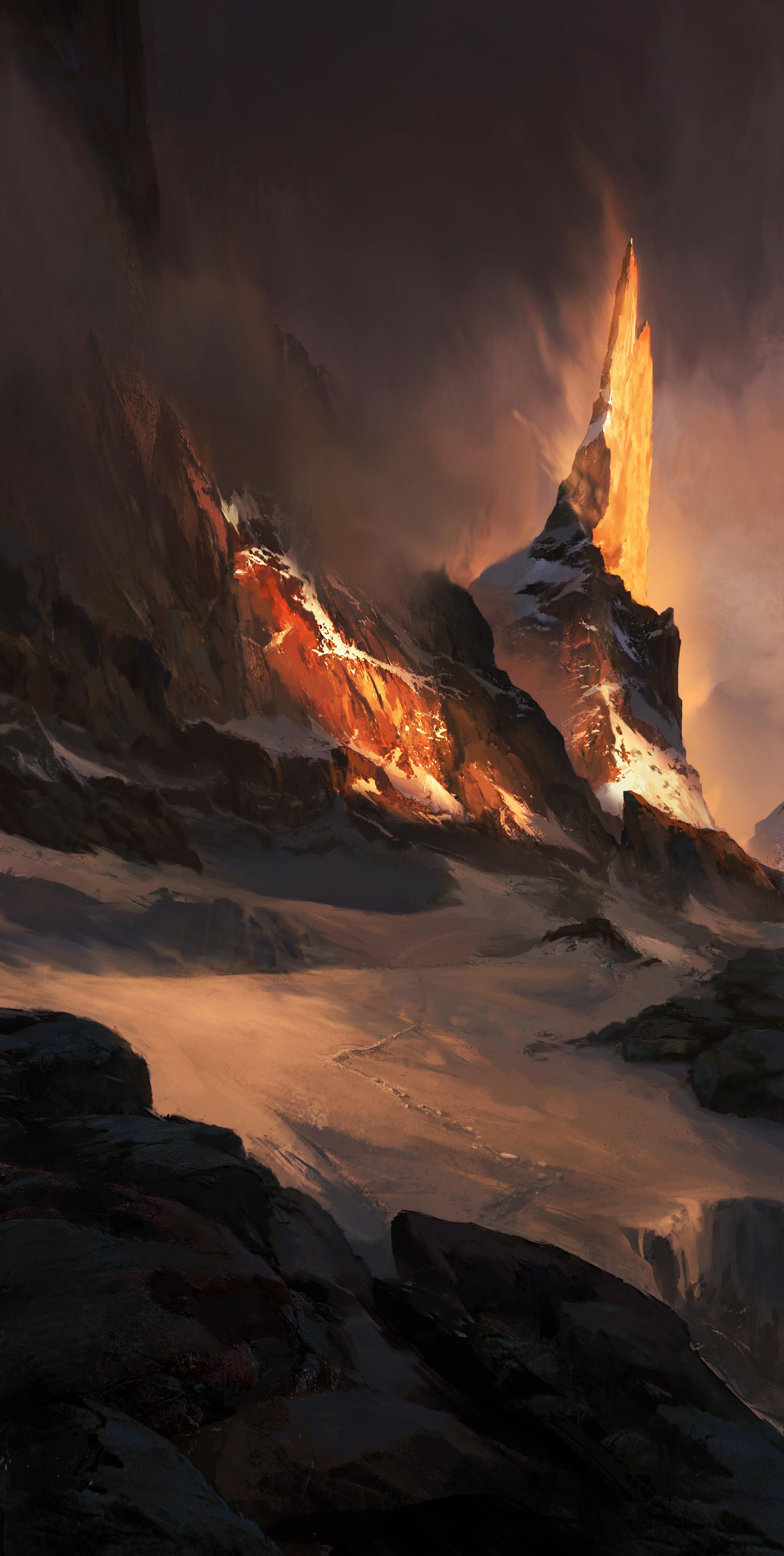 Waqas malik burning peak