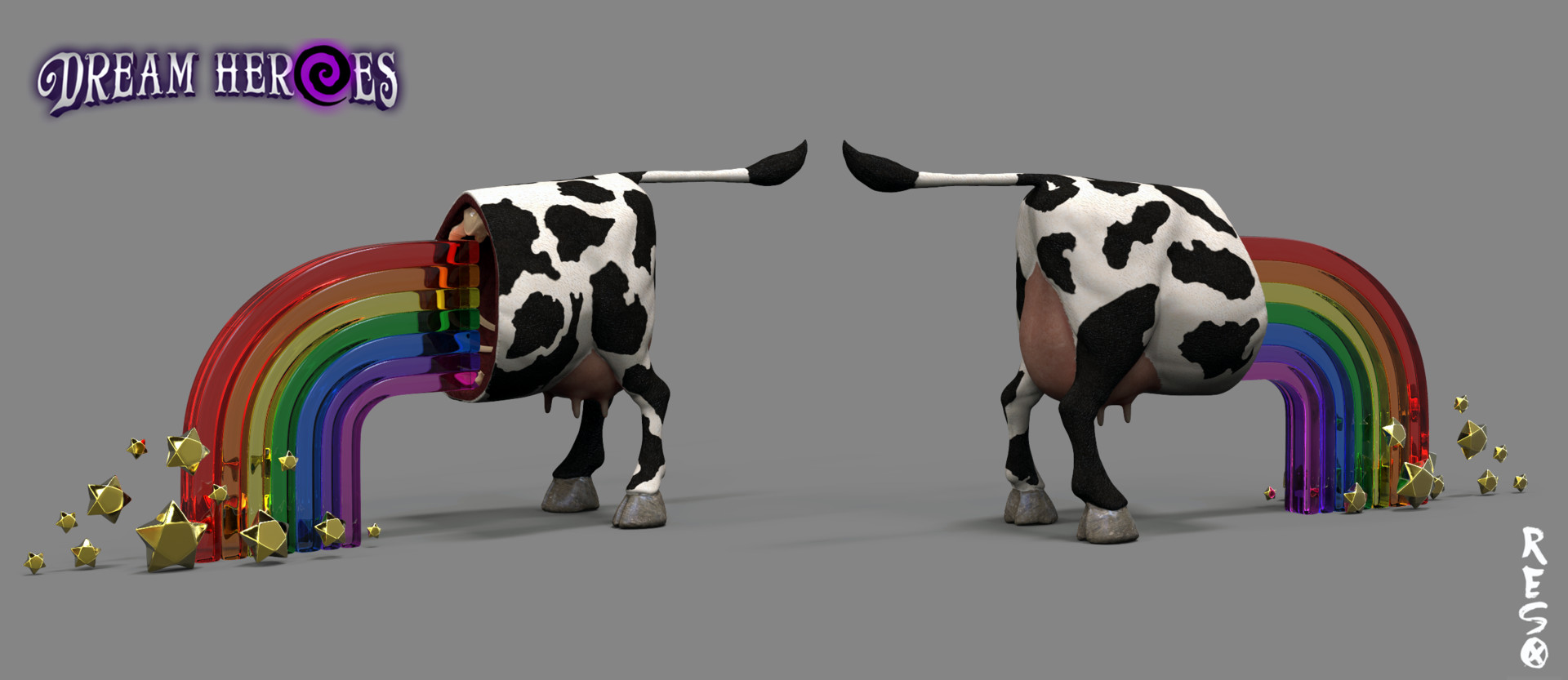 Raul eduardo sanchez osorio happy cow
