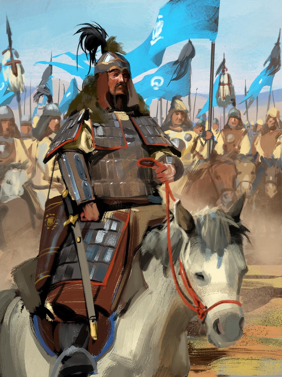 Andrei pervukhin genghis khan