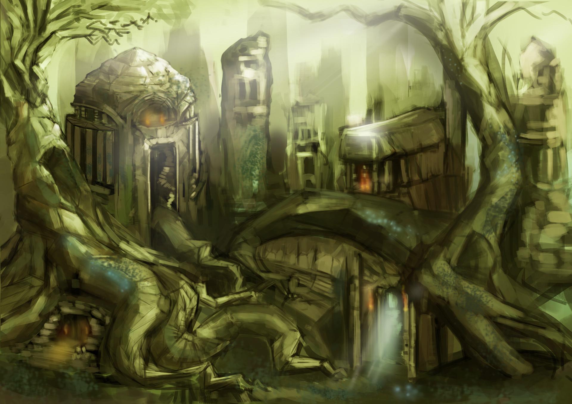 ArtStation - A Jump and Run game, Unity 2D/3D Project, Richard Kessler