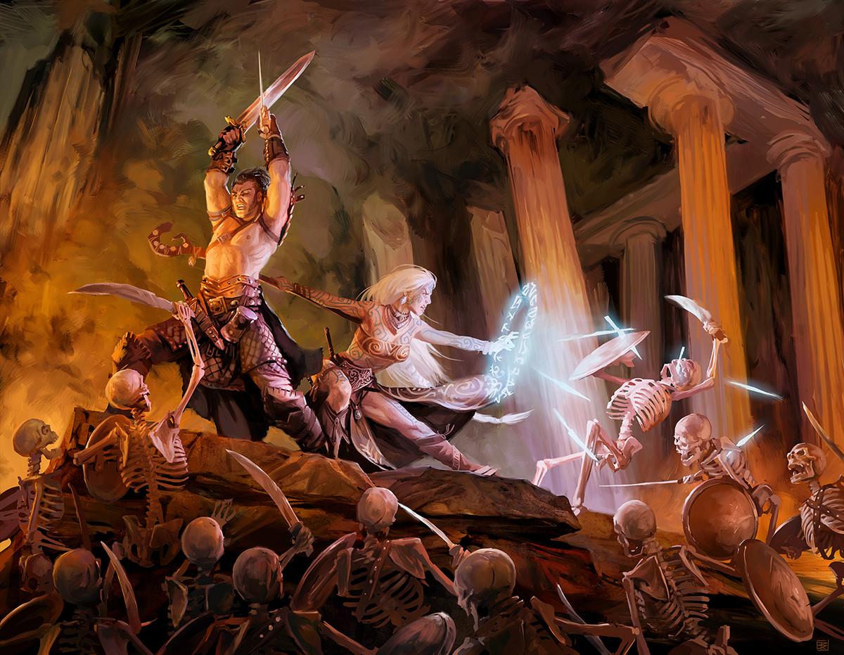 Denman rooke mythic heroes