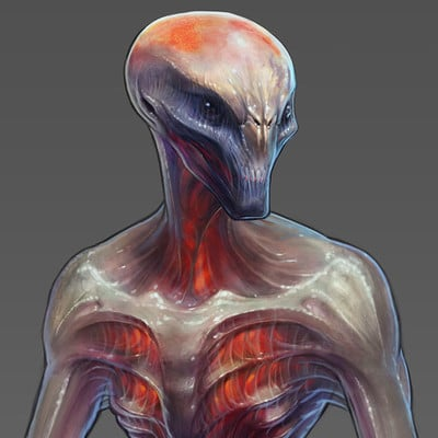 Sectoid Concept - XCOM 2