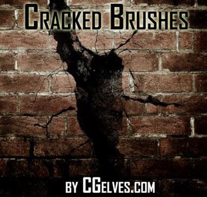 Camille Kleinman - Free Photoshop CS6 Crack Effect Brushes Set