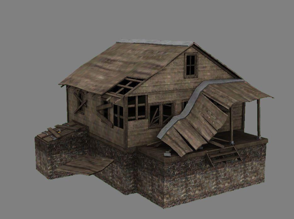 Abandoned Cabin 01