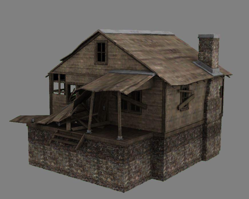 Abandoned Cabin 02