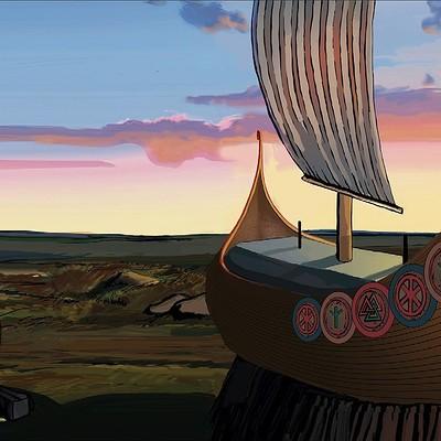 Becs teall longship landscapes 4