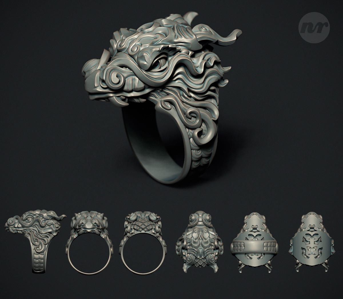 Nacho riesco gostanza anillo dragon zbr 500k