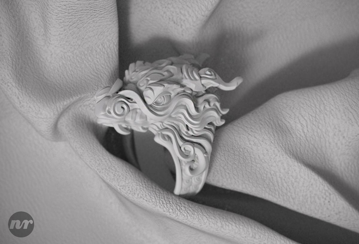 Nacho riesco gostanza anillo dragon3