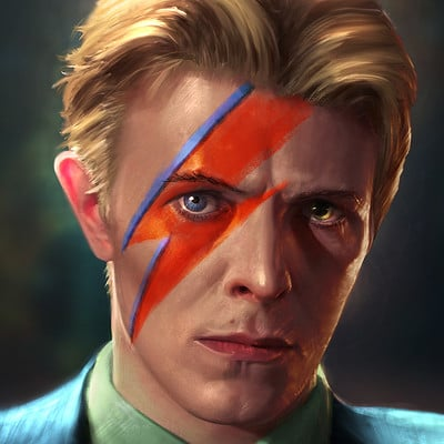 Andrew hunt david bowie