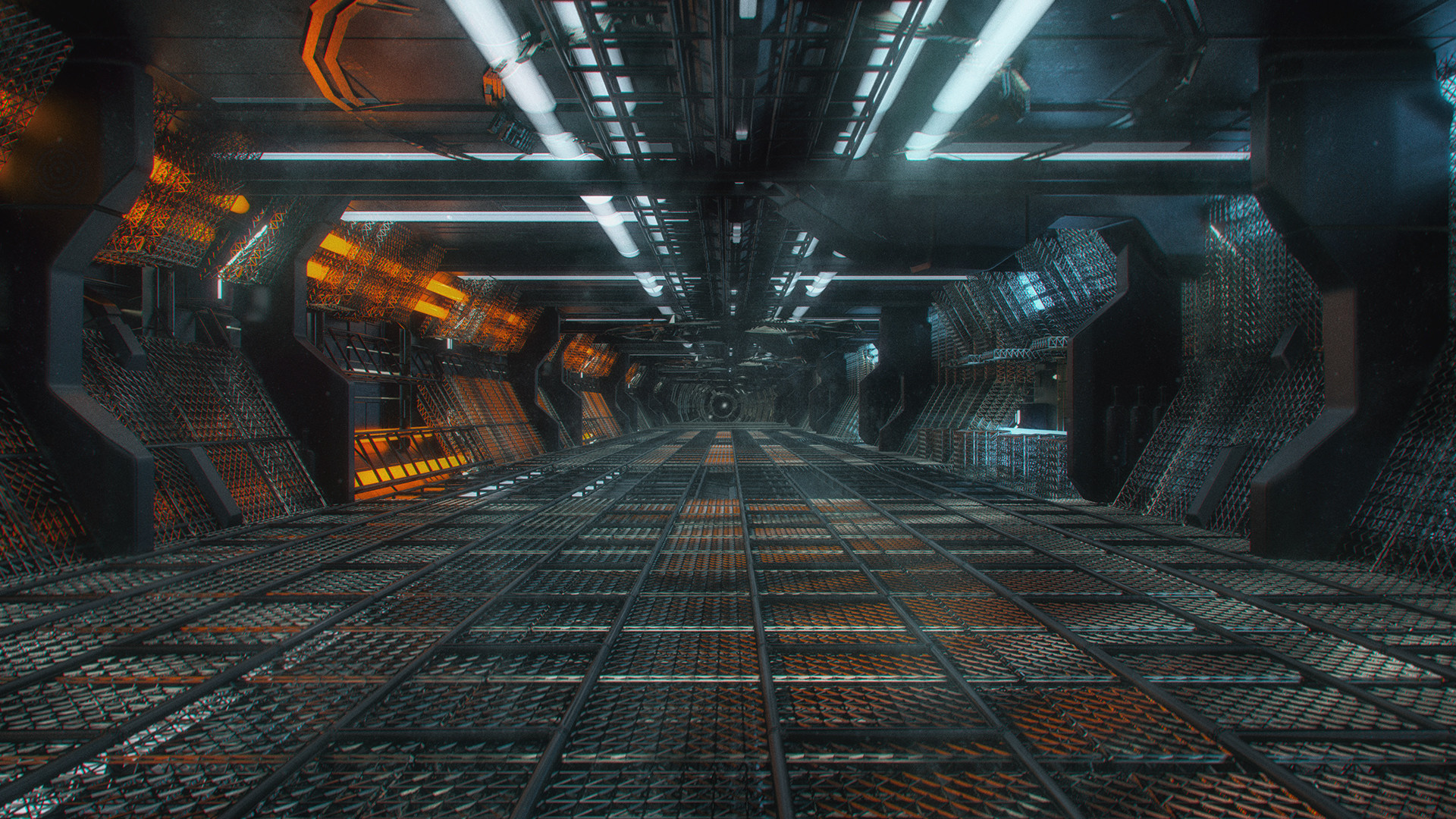 Kresimir jelusic 98 150116 space station corridor