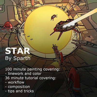 Sparth star gumroad cover video 02