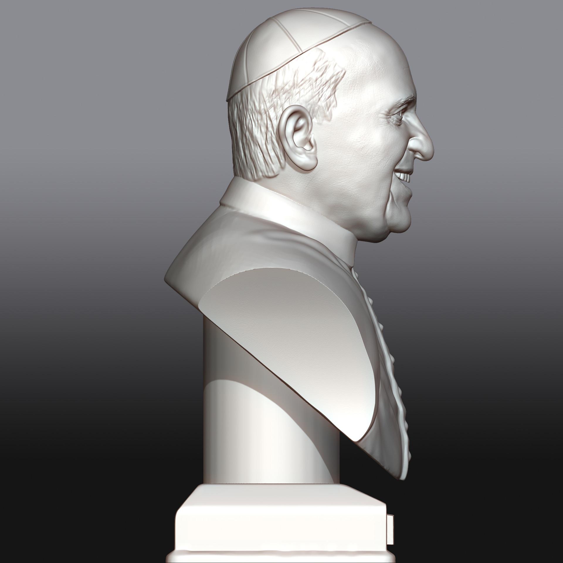 Tomislav veg pope francis side