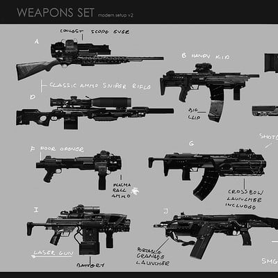 Marcin rubinkowski weapons v2 update