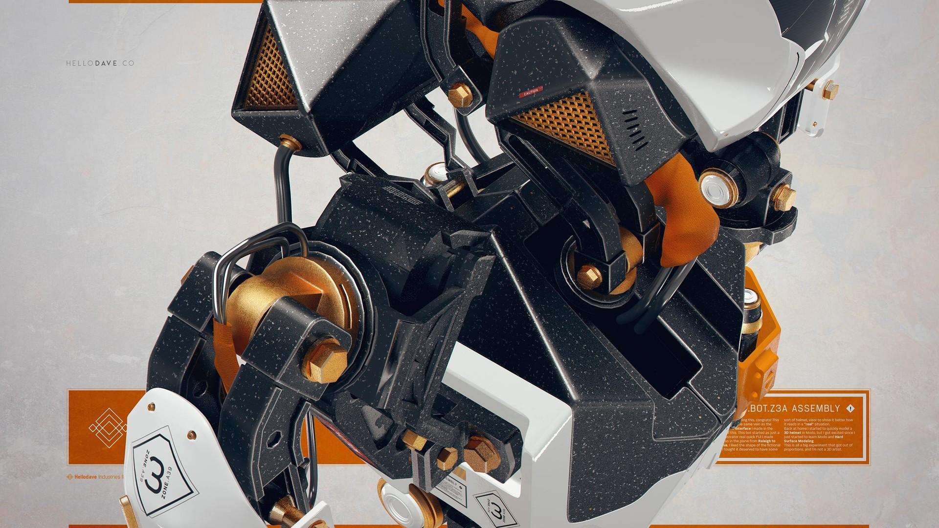 Davison carvalho servbot 3d 05