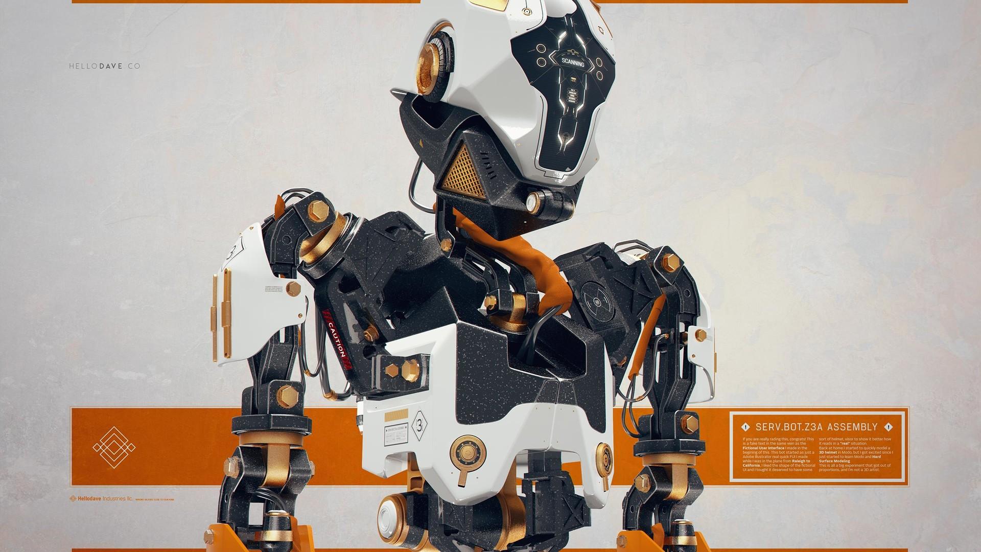 Davison carvalho servbot 3d 01
