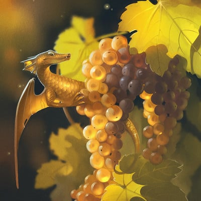 Alexandra gaudibuendia khitrova grape dragon by gaudibuendia d9oealz