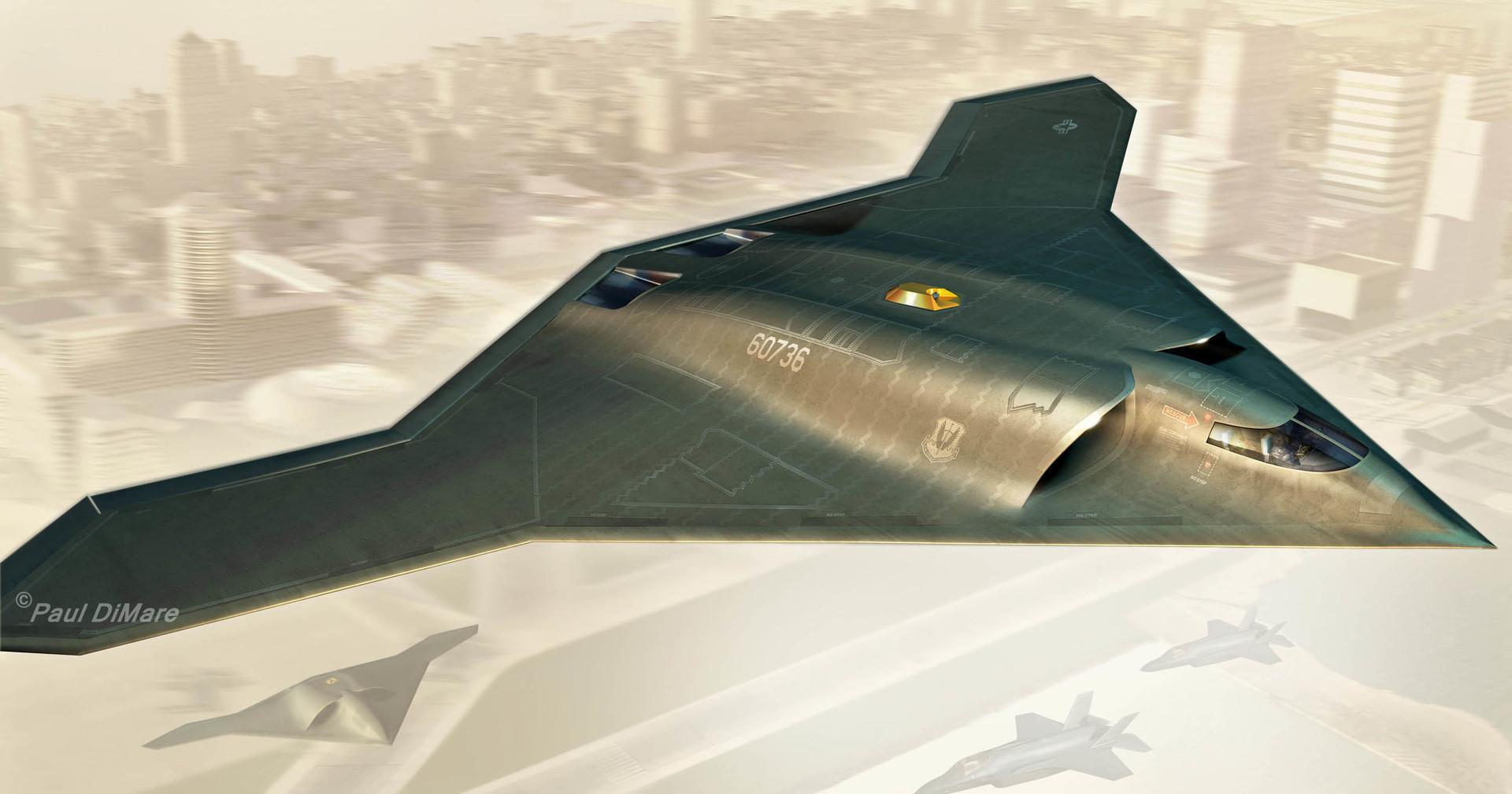 Paul Dimare B3 Stealth Bomber