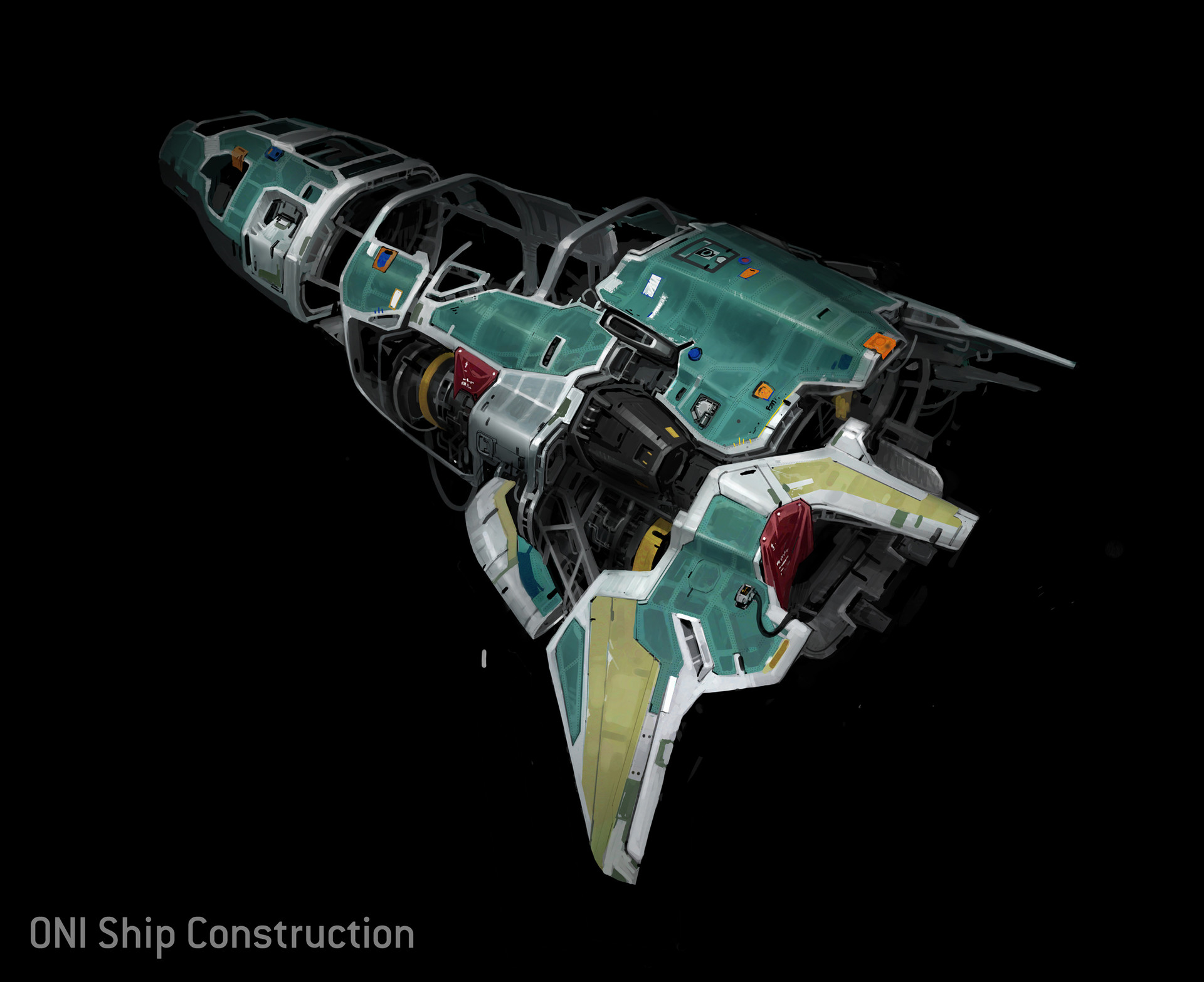 Kory hubbell oni ship construction small