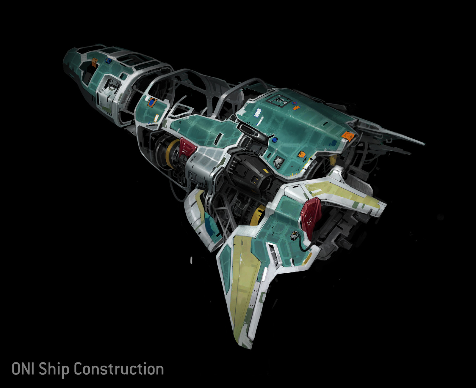 ONI Ship- Mid Construction Details