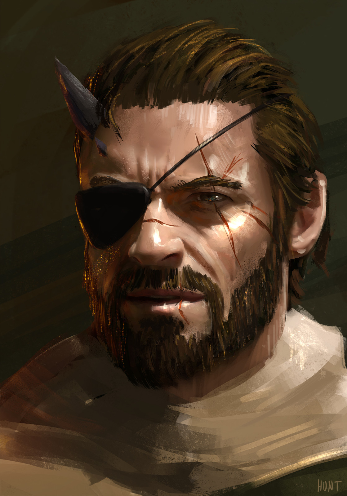Big Boss speed painting
