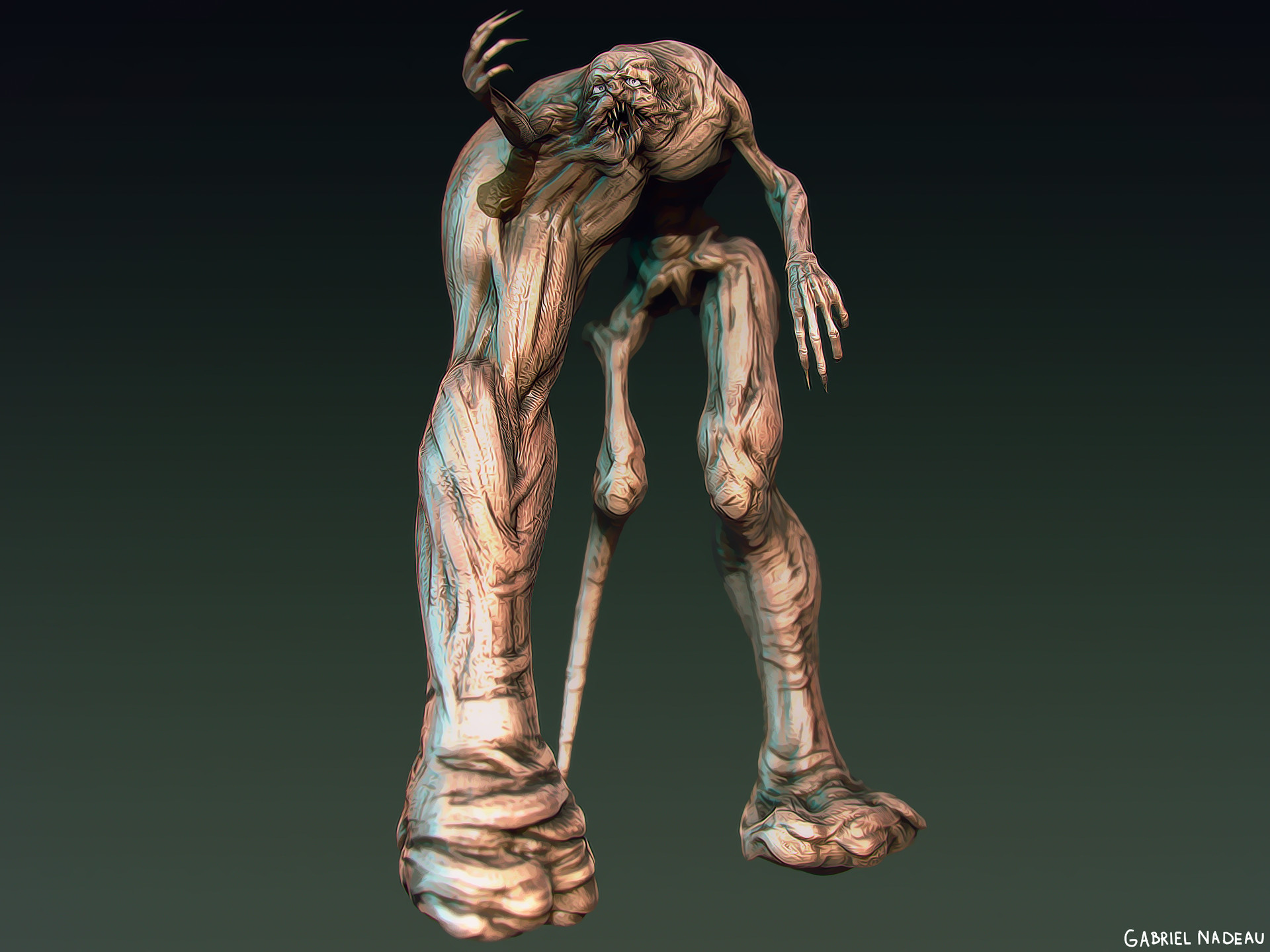 Gabriel nadeau monstre 1