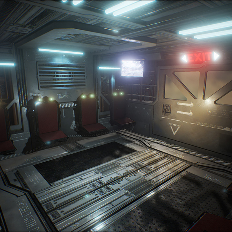 Another Scifi Room