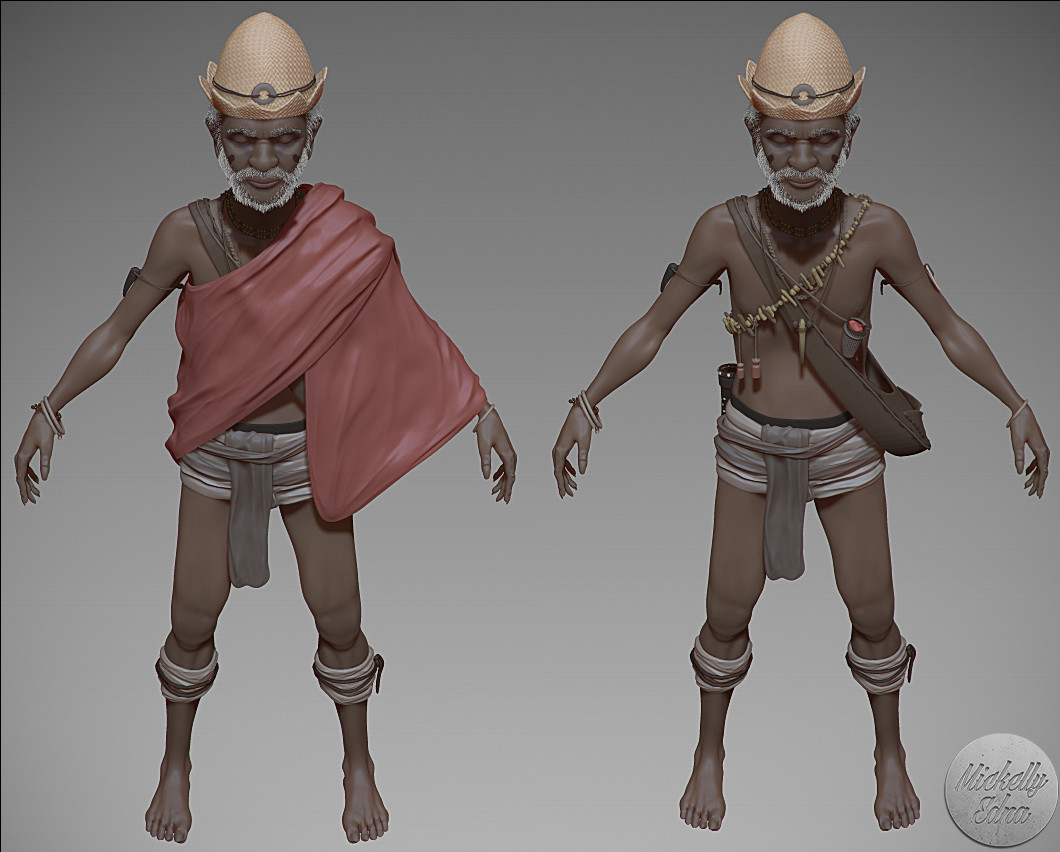 Frenzy short film - Rabe character Wip (2013)