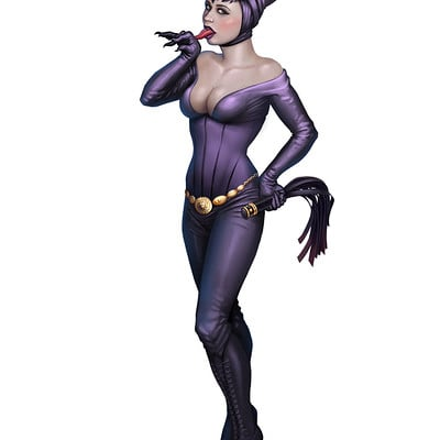 James mosingo pin up catwoman by mosingo d6bj7a9