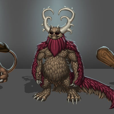 Travis lacey forest creatures travis lacey concept art