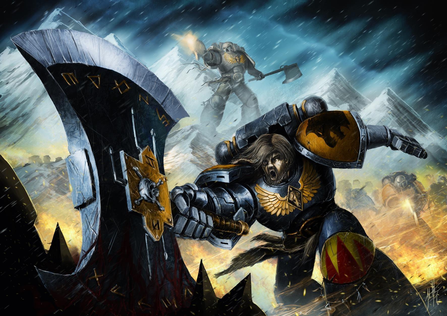 John stone unleash the wolves of fenris