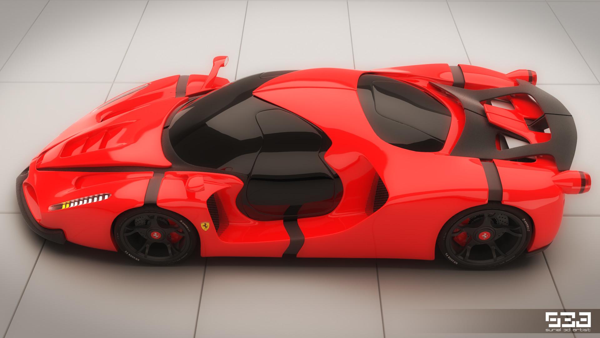 Hector Suriel Ferrari Enzo Gt Concept Hector Suriel