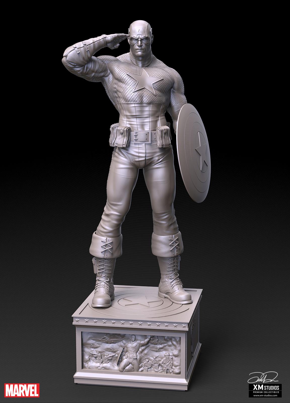 Captain America Sculpt - 'Merica!!
