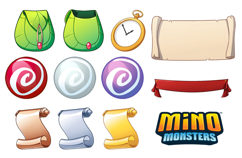 UI assets as well as trophy and icon assets.