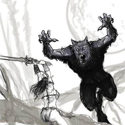 Hal hefner cover sketch 2