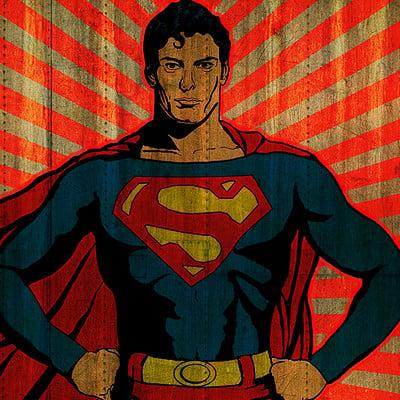 Hal hefner superman man of steel hefner