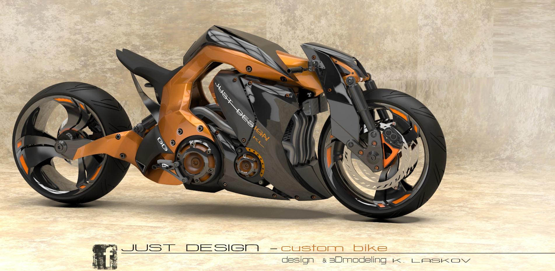 Konstantin Laskov Street Bike Design