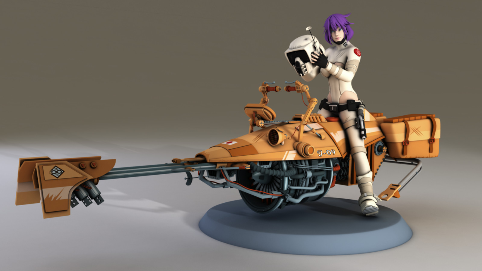 Star Wars Reimagined, Ghost in the shell.