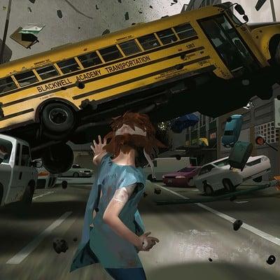 Edouard caplain bus impact hd