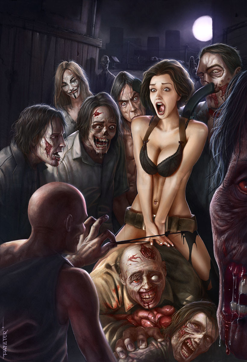 зомби апокалипсис порно комиксы № 23910  скачать