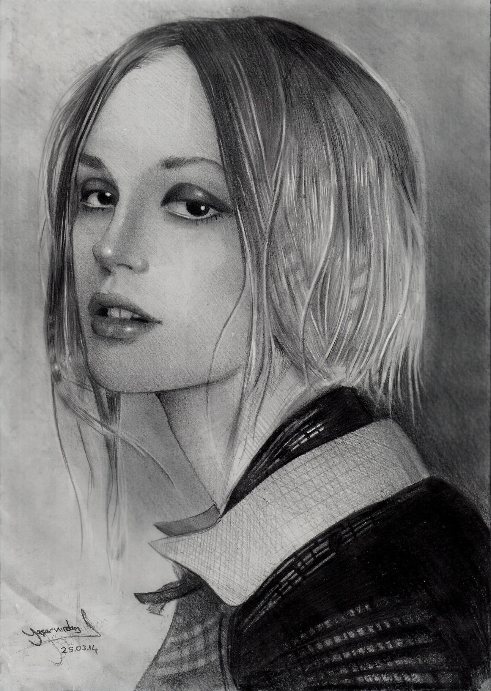 Yasar vurdem model portrait by vurdem d7bmyth