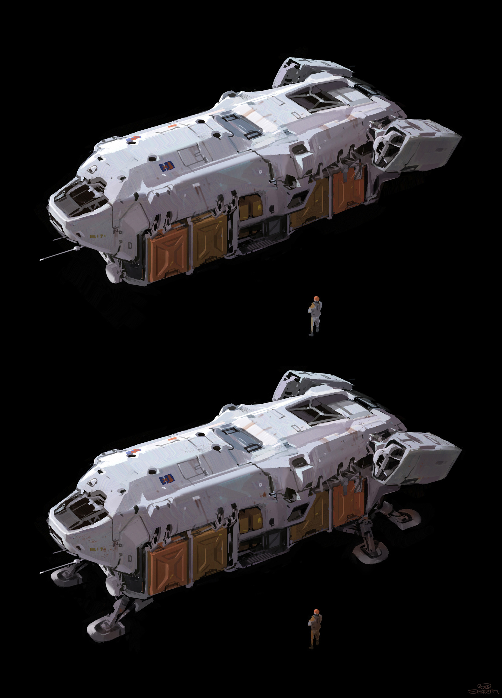 Sparth transport spaceship f small