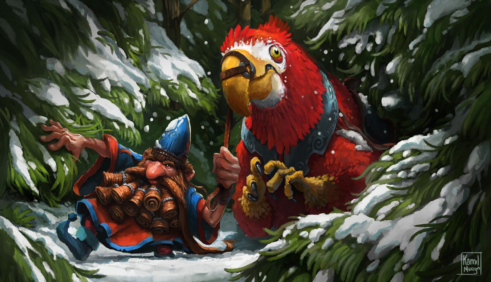 Kamil murzyn winterparrot3