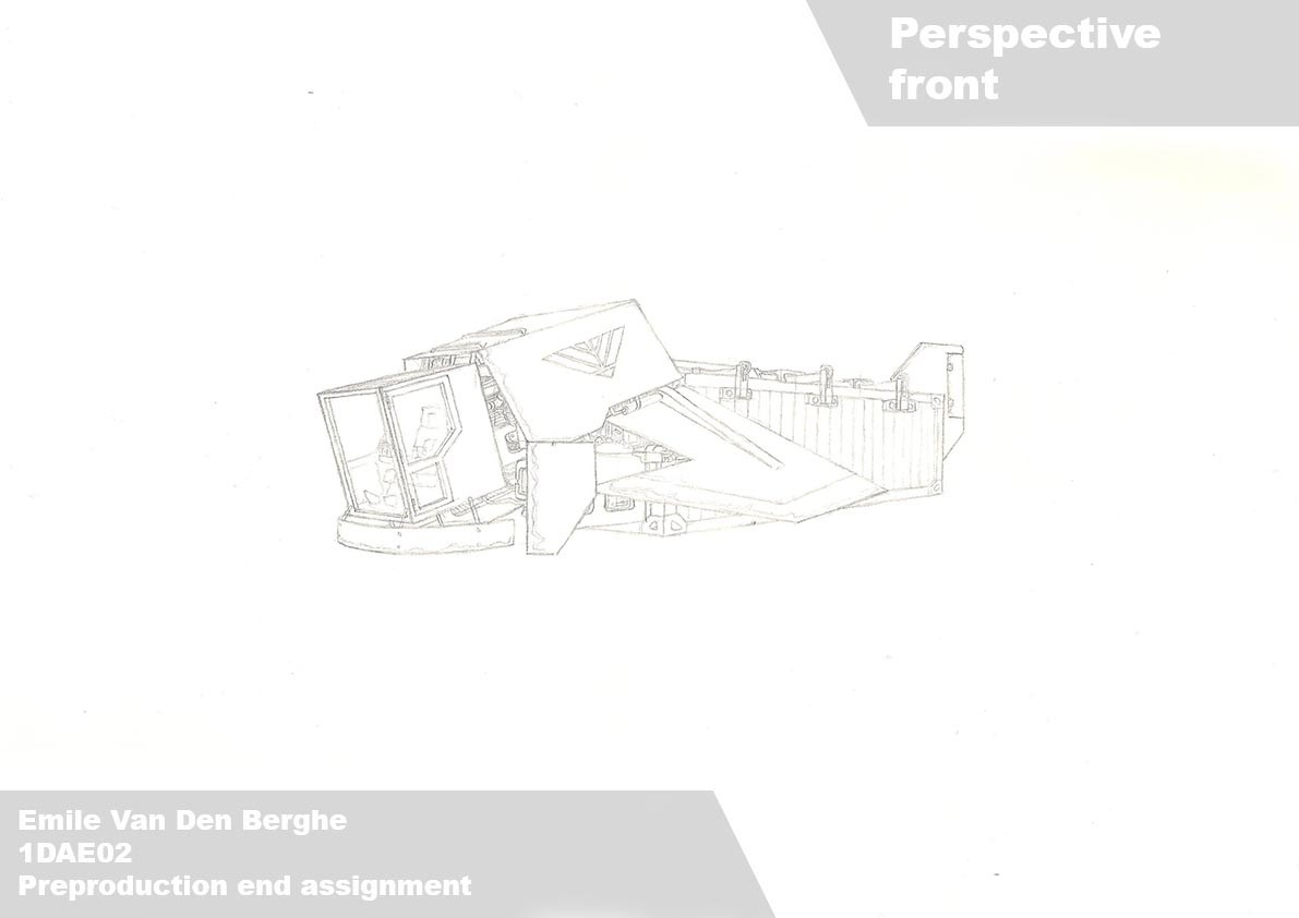Emile van den berghe van den berghe emile 1dae02 14 lineart perspective front