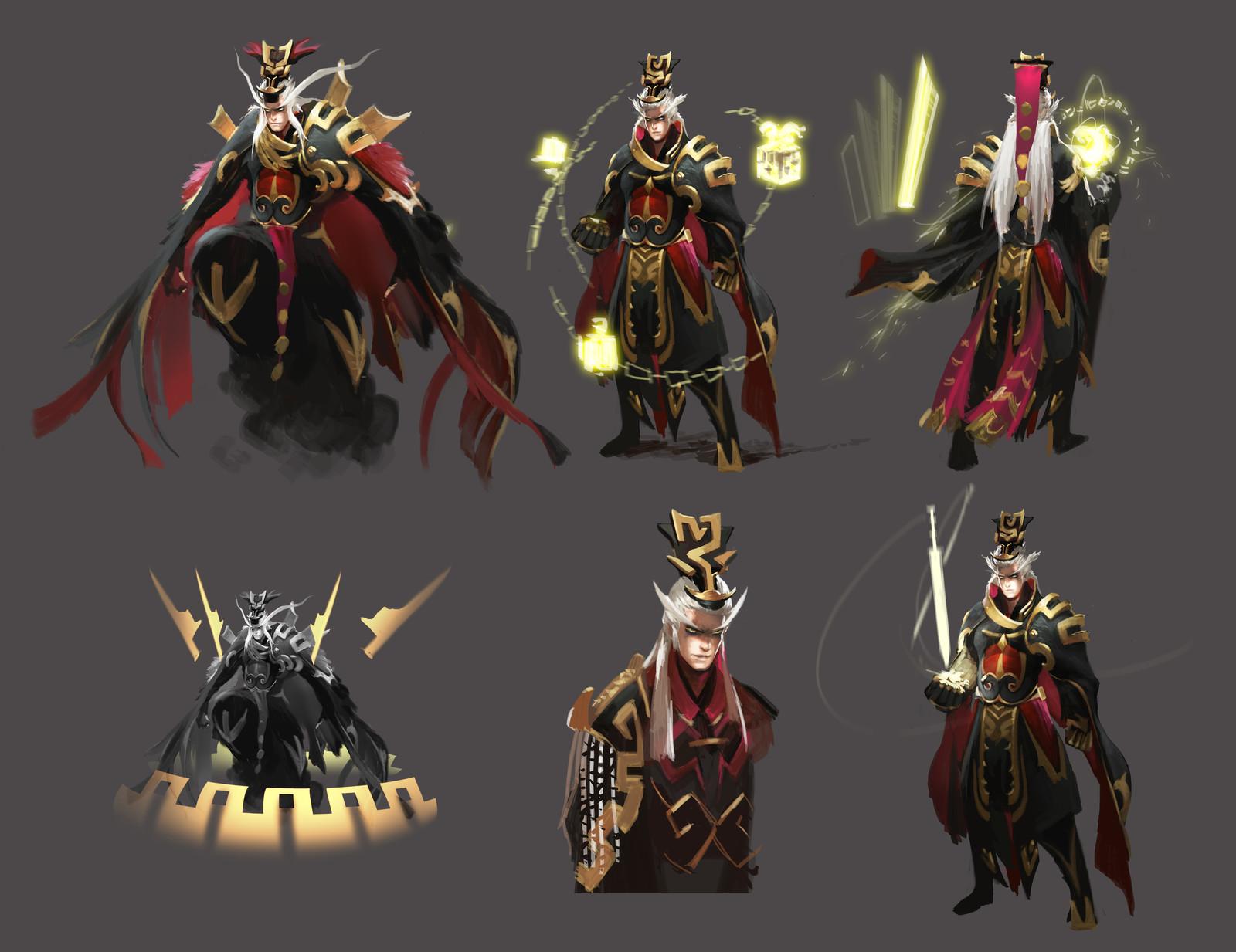 Emperor Qin hero design