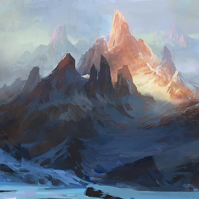 Grosnez golden mountain