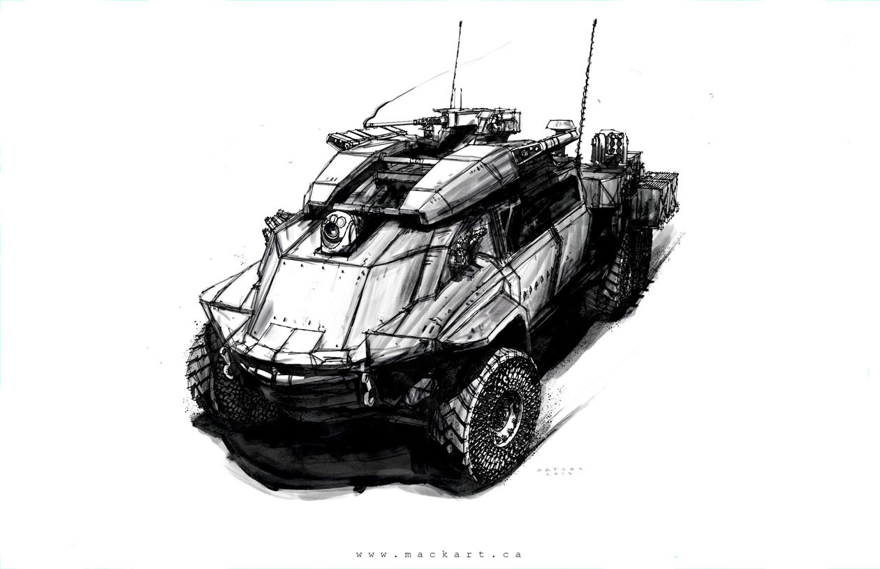 Mack sztaba amphibious military craft