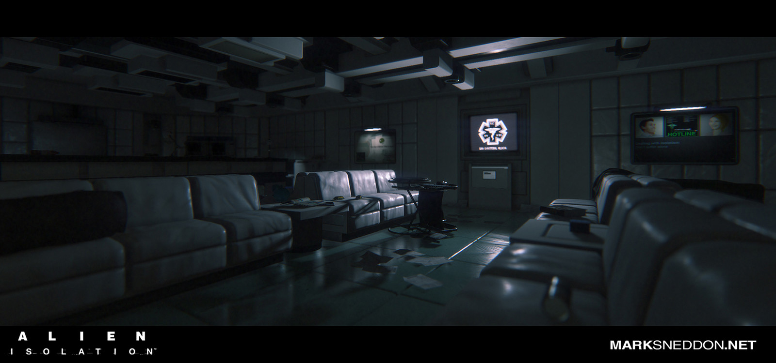 Alien: Isolation - Reoperation (DLC Map)
